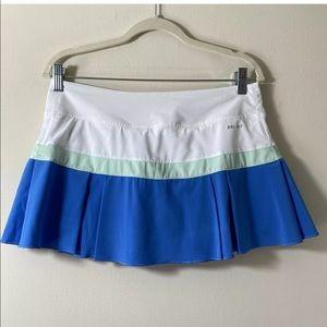 Nike Women's Pleated Skort Skirt Colorblock Size M